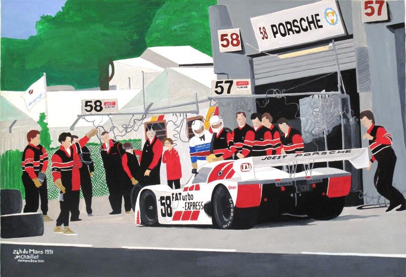24 h du Mans 1991