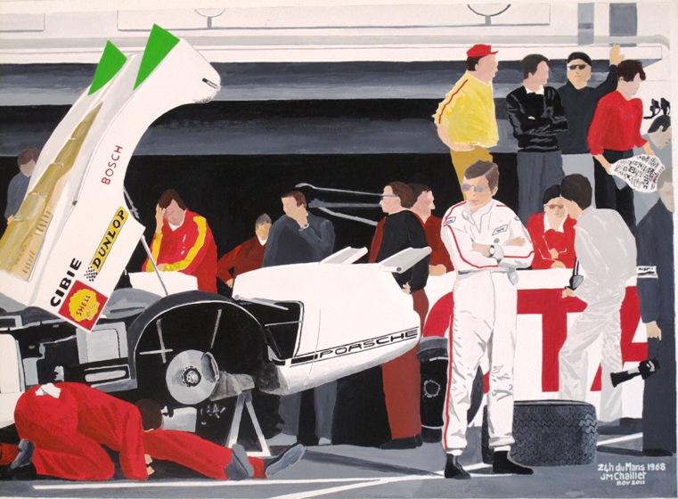 24 h du Mans 1968