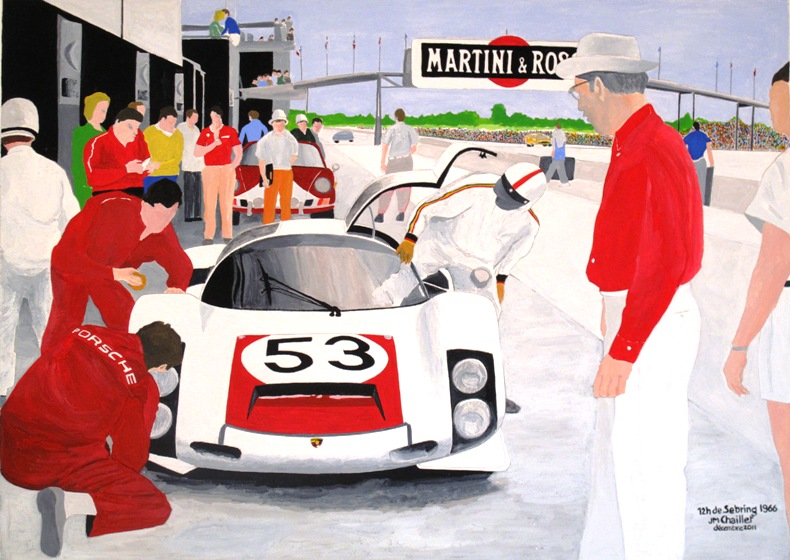 12 h de Sebring 1966