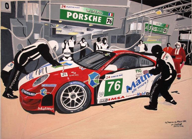 24 h du Mans 2011