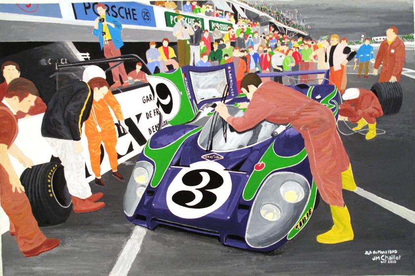 24 h du Mans 1970