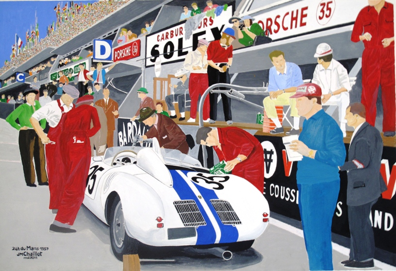 24 h du Mans 1957