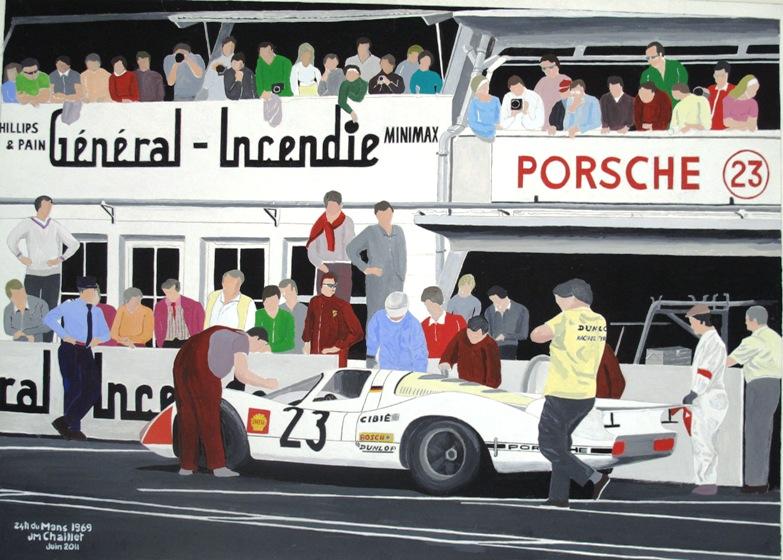 24 h du Mans 1969