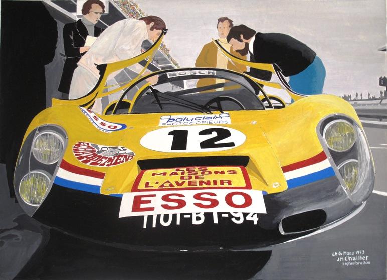 4 h du Mans 1973